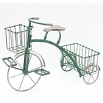 Youthful Tricycle Planter - Green