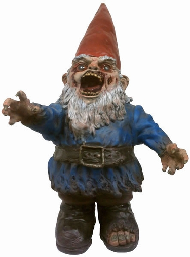 Zombie Gnome - Large Gnombie - Click to enlarge