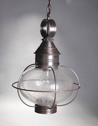 "10"" Caged Onion Hanging Light Fixture With Many Options"