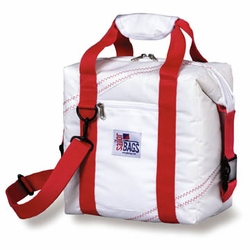 12-pack Soft Sailcloth Cooler Bag