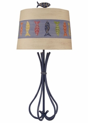 5-Leg Iron Table Lamp