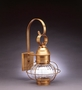 """8"""" Caged Onion Wall Fixture"""