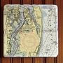 8-inch Marble Trivet - Customize Your Location