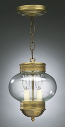 "8"" Onion Hanging Light Fixture"
