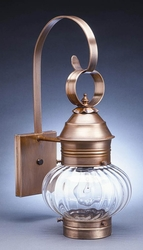 "8"" Wall Mount Onion Lantern"
