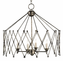Accordion 4-Light Chandelier