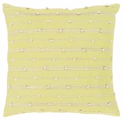 Accretion Pillow in Lime
