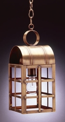 Adams Medium Hanging Lantern with H Bars