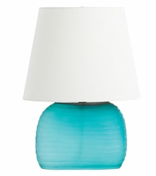 Archer Table Lamp in Blue