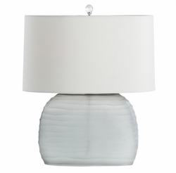 Archer Table Lamp in White