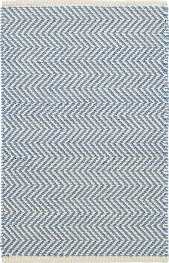 Arlington French Blue Indoor/Outdoor Rug for Sale - Cottage & Bungalow