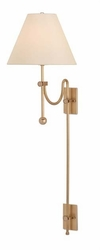 Arrowpoint Brass Wall Sconce