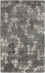 Artist Studio Pewter Branches Medium Pile Rug
