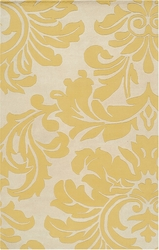 Athena Rug in Yellow