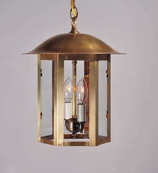 Aurora Collection Two-Light Hanging Lantern