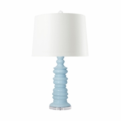 Aurora Table Lamp Light Blue<font color=a8bb35> NEW</font>
