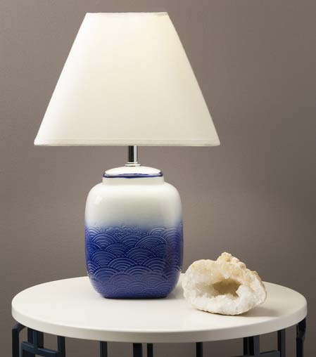 Surya Azul Short Table Lamp