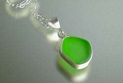 Baby Splash Sea Glass Pendant