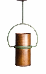 Copper Yoke Pendant Light