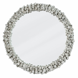 Barnacle Mirror - Silver <font color=a8bb35> NEW</font>