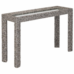 Batad Shell Console Table <font color=a8bb35> Low Stock</font>