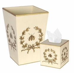 Bath Set Napolean Bee with Garland<font color=cf2317> Discontinued</font>