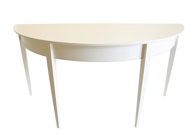 Battery Console Table In Two Sizes For Sale Cottage