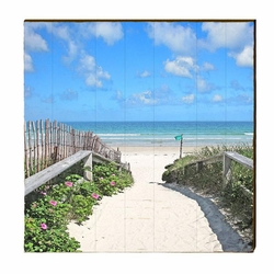 Beach Crossing Wall Art