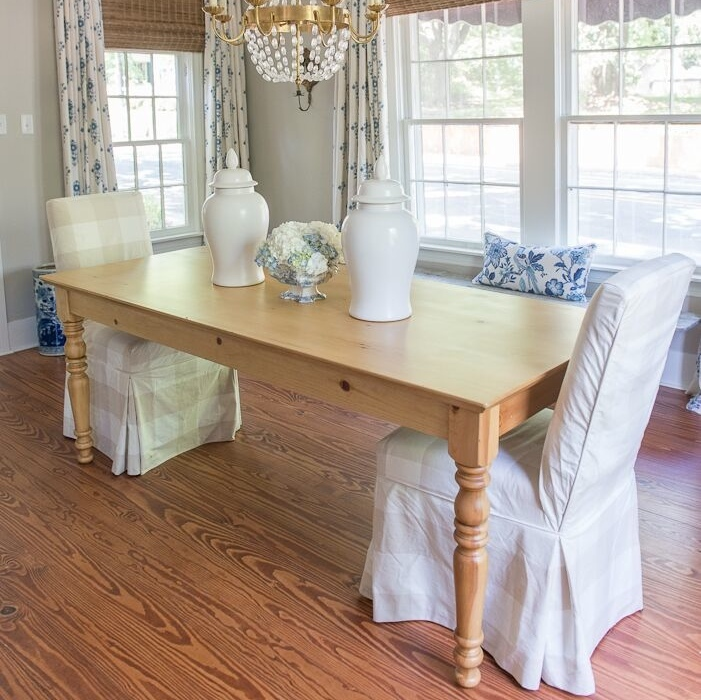 Beach Dining Room Sets: Beach House Dining Table In Two Sizes For Sale