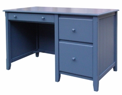 Bead Board Desk with Lap Drawer