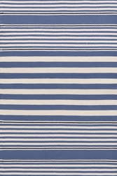 Beckham Stripe Denim Indoor/Outdoor Rug