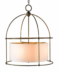 Benson 4-Light Lantern in Two Finishes