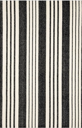 Birmingham Black Cotton Rug