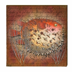 Blowfish Beach Wall Art