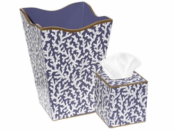 Blue Coral Bath Set<font color=cf2317> Discontinued</font>