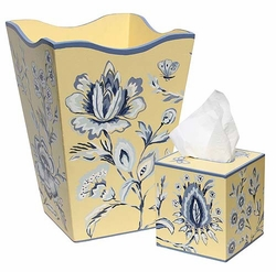 Blue Flowers Bath Set  <font color=cf2317> Discontinued</font>