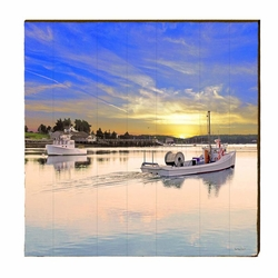 Dead Rise Boat Beach Wall Art