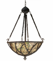 Branches and Leaves Inverted Pendant Light