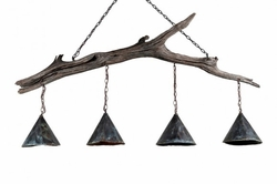 Brays Island Driftwood 4-Light Custom Chandelier