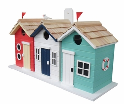 Brighton Beach Huts Birdhouse
