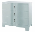 Brigitte Three Drawer Table in 3 Finishes
