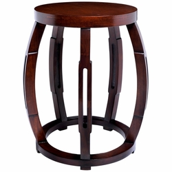Taboret Mahogany Side Table/Stool