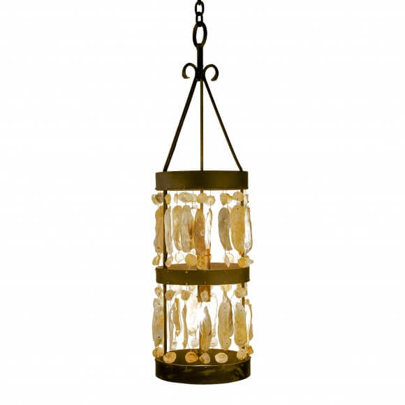 Bougie Chandelier calibougie shell cylinder chandelier for sale - cottage & bungalow