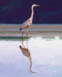 Miller Pope's Calm Waters Giclee