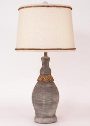 Casual Pot with Rope Lamp