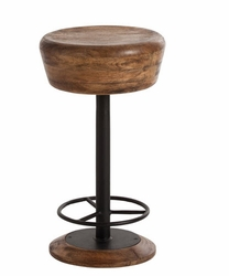Caymus Wood/Iron Counter Stool