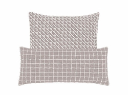 Chadna Grey Decorative Pillow