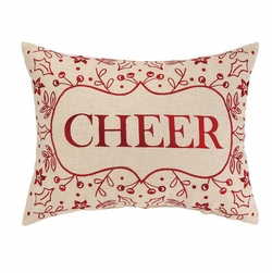 Cheer Holiday Pillow<font color=cf2317> Sold Out</font>