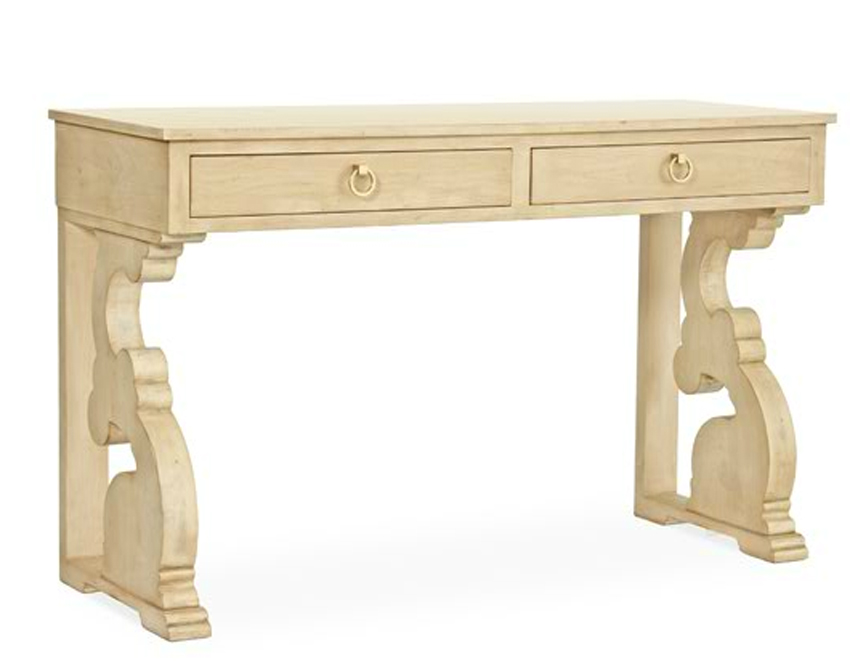chloe petite console table for sale cottage bungalow. Black Bedroom Furniture Sets. Home Design Ideas