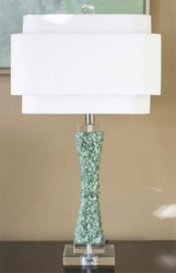 Cienege Green Quartz Table Lamp